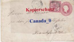 B  3  ----  Brief Ganzsache  U 9 A + Mi# 18  Bahnpost 10.9.1865 Von Wildloch Nach FFM - Baden