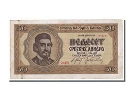 Serbie, 50 Dinara Type Petar - Serbie