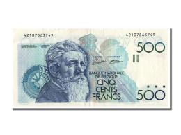 [#302186] Belgique, 500 Francs Type Meunier - [ 2] 1831-... : Reino De Bélgica