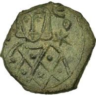 Monnaie, Léon V L'Arménien, Follis, Syracuse, TTB+, Cuivre, Sear:1636 - Byzantines