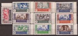 CJ152- L4106.Marruecos Maroc.Marocco.CABO JUBY ESPA�OL ARTESANIA 1948. ( Ed 152/61**) sin charnela MAGNIFICA