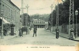 27 LOUVIERS  Rue De La Gare - Louviers