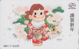 Carte Prépayée Japon - BD Comics - PEKO & POKO - Japan Prepaid Card Tosho Karte - 04 - BD