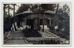 HOSSEGOR--1943--Type De Villa (animée) ,cpsm 9 X 14  éd Galeries Landaises---pas Courante - Hossegor