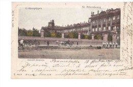 St Petersbourg  Palais D'Hiver 1904 Horses Soulders 1904 NICE OLD POSTCARD 2 Scans - Russia