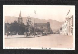 CHILE Chile 1900-10s Place Colon Y Calle Prat  - ANTOFAGASTA No.11 Hans Frey VALPARAISO SANTIAGO CONCEPCION COQUIMBO - Chili