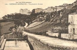 1707 - CASTELNAU MONTRATIER - VUE PRISE DE LA FONTAINE - Altri Comuni