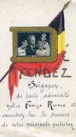 Defendez Seigneur Notre Famille Royale- Belgique - Drapeau Belge- Photo Famille Royale - Autres