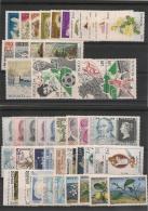 MONACO Année 1990 Complète N° Y/T : 1705/1752** Côte : 132,00 € - Mónaco
