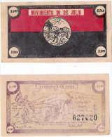 CUBA/KUBA SPLENDIDO BUONO - BOND DA 5 $ PER FINANZIARE LA RIVOLUZIONE CUBANA