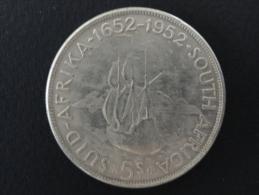 1952 - FAUSSE MONNAIE - 5 Schillings Commémorative 1652-1952 Afrique Du Sud - South Africa - 38 Mm De Diamètre - Sudáfrica