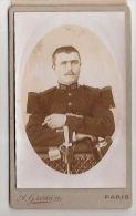 Photographie Militaire 103 Régiment Infanterie Soldat Officier - War, Military