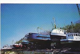Canada Chantiers Maritimes Ile-Aux-Coudres Charlevoix Quebec