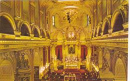 Canada Interieur de la Baslilique Cathedrale Notre-Dame de Quebe