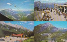 Canada Sulphur Mountain Gondola Lift Banff Alberta