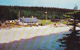 Canada Camp at Port Menier Anticosti Island Quebec