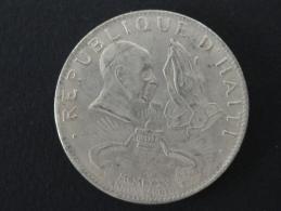 1975 - FAUSSE MONNAIE - 50 Gourdes Haïti - 38 Mm De Diamètre - Haïti