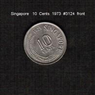 SINGAPORE     10  CENTS  1973  (KM # 3) - Singapore