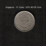 SINGAPORE     10  CENTS  1976  (KM # 3) - Singapore