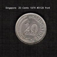 SINGAPORE     20  CENTS  1976  (KM # 4) - Singapore