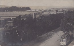 Chemins De Fer - Carte-Photo - Tramway Schulzenhaus - Baraquements Caserne Militaria - à Situer - Tramways