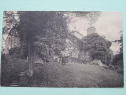 Château Du Roeulx à S.A.S. Mgr. Le Pce De Croy-Solre ( Vue De Côté ) Anno 19?? ( Zie Foto Voor Details ) !! - Le Roeulx