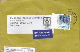 Hong Kong Airmail Par Avion Label HONG KONG 2006 Cover Brief To Denmark Customs Douane Declaration Label (2 Scans) - 1997-... Sonderverwaltungszone Der China