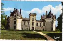 49 - BREZE - Le Château - Entrée Principale - CPSM - France