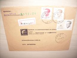 1 X 2203 1 X 2126 1 X 2127 Aangetekend Riemst  B - Belgio