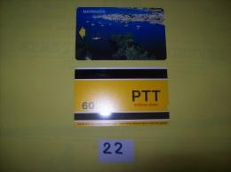 TELECARTE - TURQUIE - Marmaris  - Dos PTT   Cagdas Hizmet  60 - Voir Photo ( 22 ) - Turkije