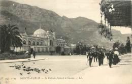 RY-13-1249  :  Monte-Carlo Le Casino Et Le Café De Paris - Monte-Carlo