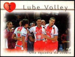 ITALIA - LUBE VOLLEY MACERATA - UNA SQUADRA DA VIVERE - PROMO CARD - Volleyball