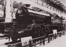 Railway Photo Card LMS 11114 Wembley Exhibition L&YR Hughes 4-6-4T Loco - Picture Cards
