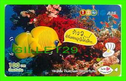 TÉLÉCARTES, THAILANDE - POISSONS - FISH - 100 BAHT - PHONECARDS - JUNE/2010 - - Poissons
