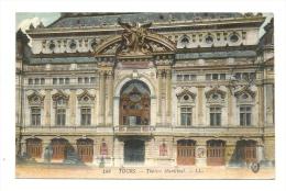 Cp, 37, Tours, Théatre Municipal, écrite 1915 ? - Tours