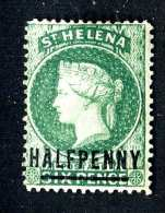 717 )  St.Helena Sc#35  Mint*no Gum   Offers Welcome - St. Helena