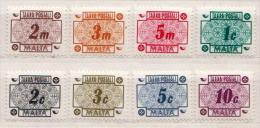 Malta MNH Postage Due Set - Malta