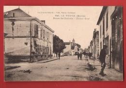 AF-025 La Veuve, Route De Chalons, Militaires, Circulé Sous Eneloppe. - Francia