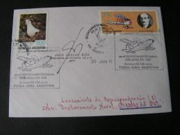 == Argentina Cv. Antarktida , Bird . Naval Cds - Argentinien