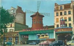 75 - PARIS - Le Moulin Rouge, Place Blanche (Ed. Abeille-Lyna, 524) - Cafés, Hotels, Restaurants