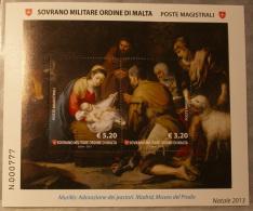SMOM 2013 - CHRISTMAS FULL SHEET MNH** - Sovrano Militare Ordine Di Malta