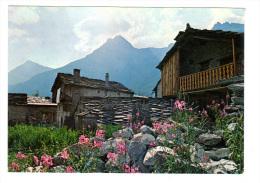 Bonneval Sur Arc: Sur La Route Du Col De L' Iseran, Pittoresques Maisons Aux Toits De Lauzes (13-4130) - Bonneval Sur Arc