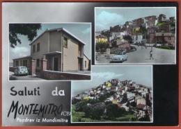 Saluti Da MONTEMITRO - Pozdrav Iz Mundimitra  ( Italy ) * Not Travelled * Fiat Car Automobile * Italia - Campobasso