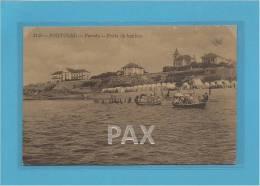 PAREDE - PRAIA DE BANHOS - PORTUGAL - Ed. A. MALVA N.º 2148 - 2 SCANS - Lisboa