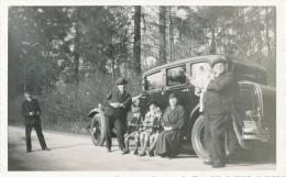 Automobile à Loverval  22 Avril 1935  11/7 Cm - Automobiles