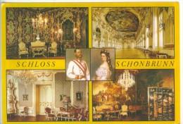 Autriche Vienne Schloss Schonbrunn Kaiser Franz Josef Kaiserin Elisabeth Salon Napoléonzimmer Millionenzimmer GalerieTBE - Château De Schönbrunn
