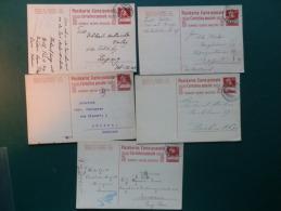 37/677       5  CP POUR L'ETRANGER - Interi Postali