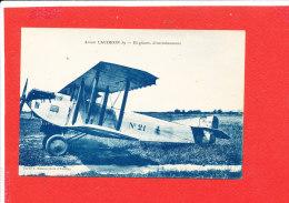 AVION CAUDRON 59 Cpa Bi Places D ' Entrainement    Edit Masson - 1939-1945: 2. Weltkrieg