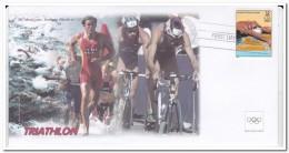 Amerika, Olympic Games, Triathlon - Fantasie Vignetten