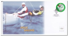 New Zealand, Olympic Games, Sailing - Fantasie Vignetten